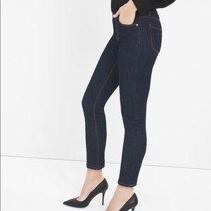 NWT WHBM Dark Wash Skimmer Jeans Size 4